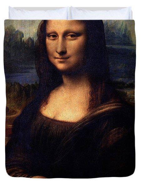 Mona Lisa II Duvet Cover by Karon Melillo DeVega