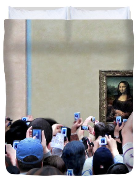 Mona Mobbed Duvet Cover by Jennie Breeze