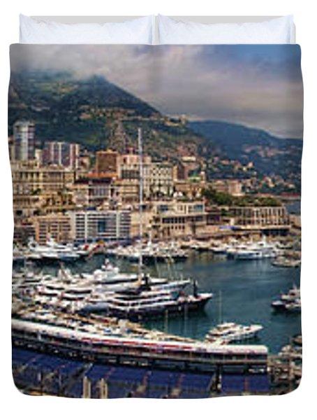 Monaco Panorama Duvet Cover