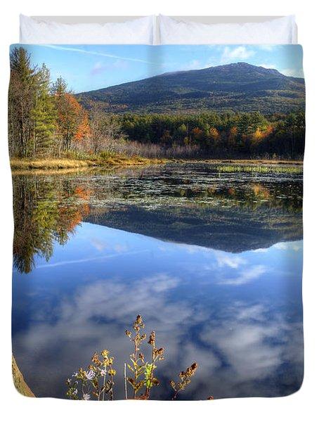 Monadnock Reflections Duvet Cover