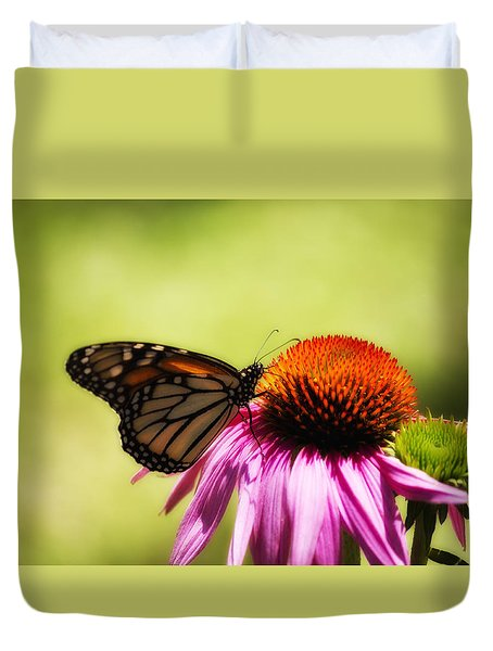 Monarch Glow Duvet Cover by Shelly Gunderson