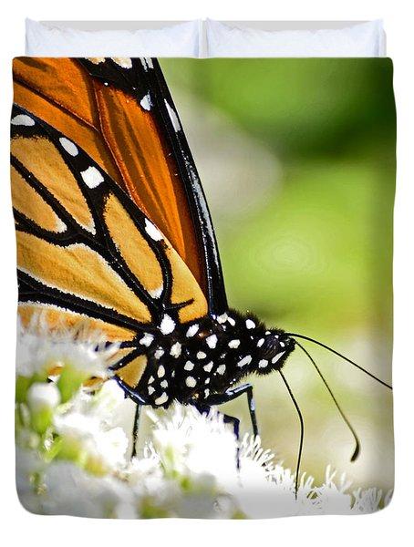 Monarch Moment Duvet Cover