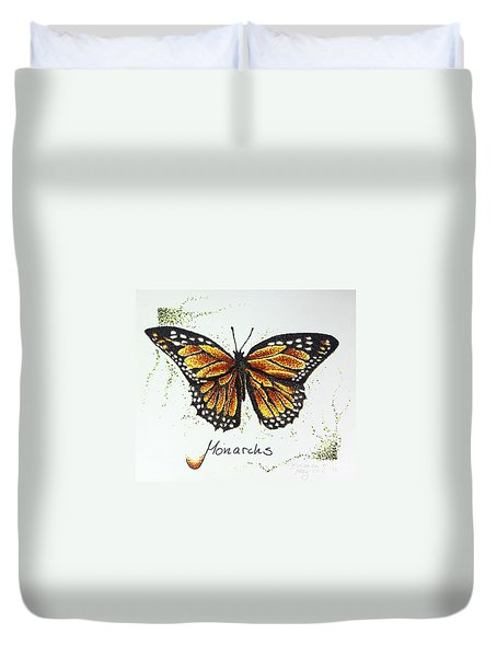 Monarchs - Butterfly Duvet Cover