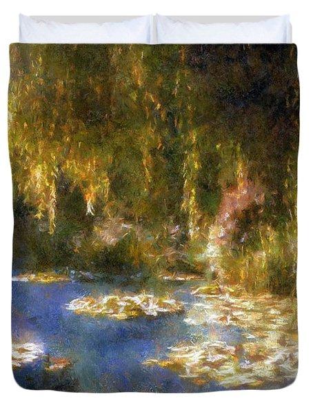 Monet After Midnight Duvet Cover