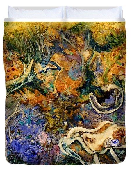 Monet Under Water Duvet Cover