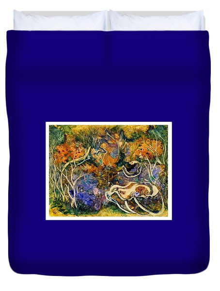 Monet Under Water Duvet Cover