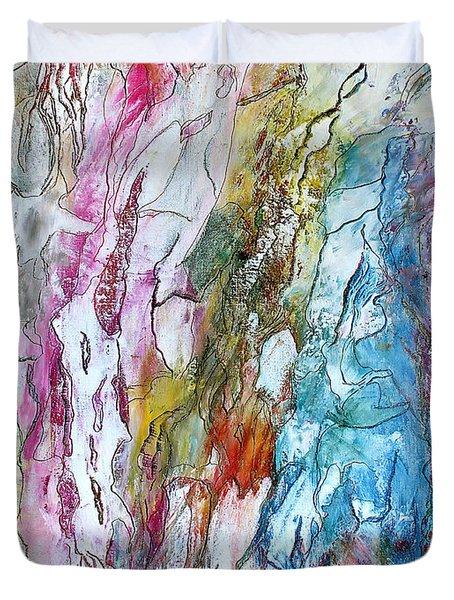Monet's Garden Duvet Cover by Bellesouth Studio