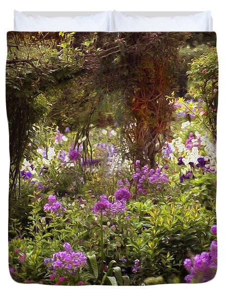 Monet's Garden - Impression Duvet Cover