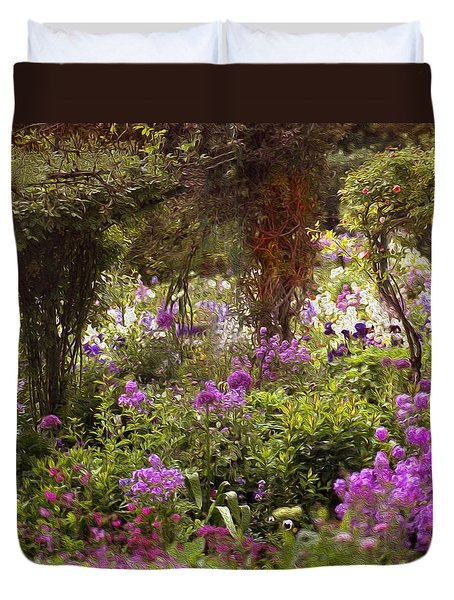 Monet's Garden - Impression Duvet Cover