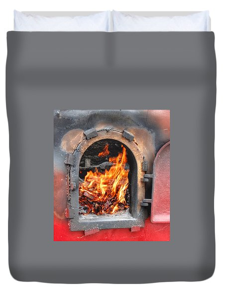Money 2 Burn Duvet Cover