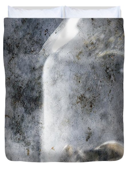 Money In A Jar Duvet Cover by Skip Nall