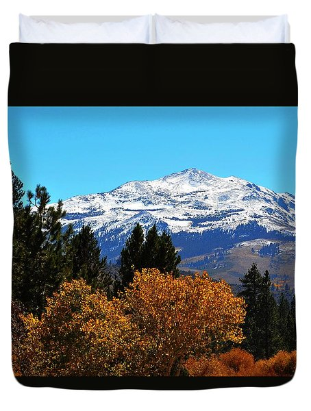 Monitor Pass View Duvet Cover