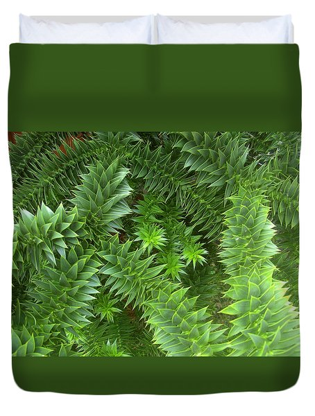 Monkey Puzzle Duvet Cover