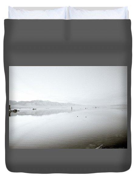 Mono Lake Serenity Duvet Cover by Shaun Higson