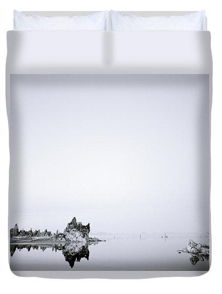 Still Waters Run Deep Duvet Cover by Shaun Higson