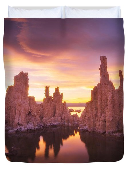 Mono Magic Duvet Cover by Peter Coskun