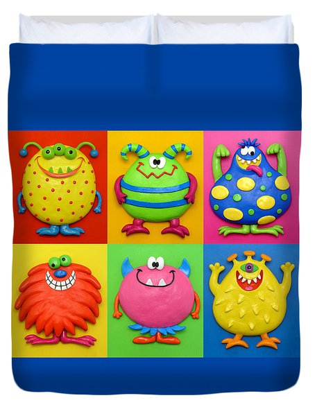 Monsters Duvet Cover