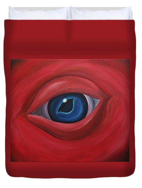 Monstrosity Duvet Cover by Sven Fischer
