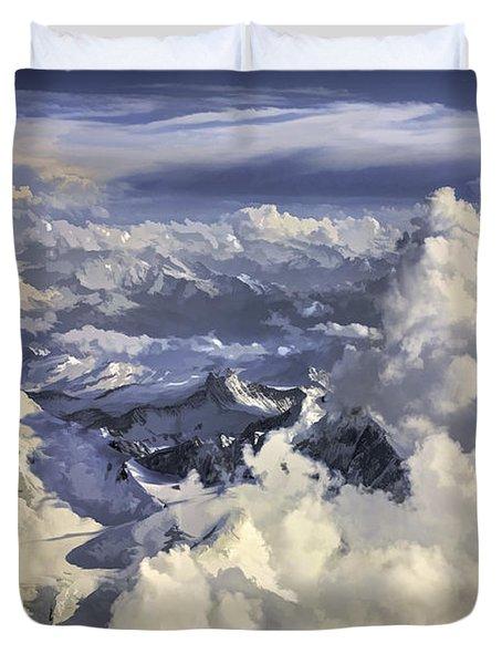 Mont Blanc Duvet Cover