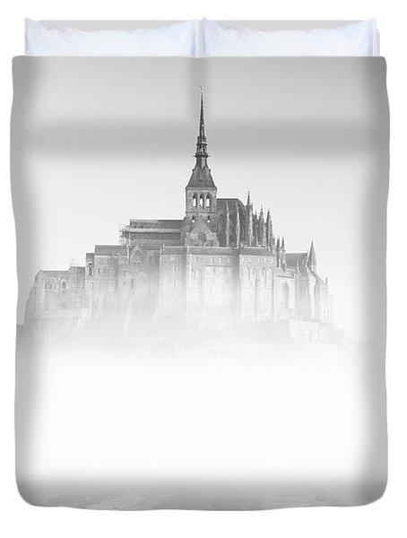 Mont Saint-michel Duvet Cover