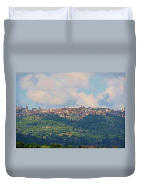 Montalcino Duvet Cover by Marilyn Dunlap