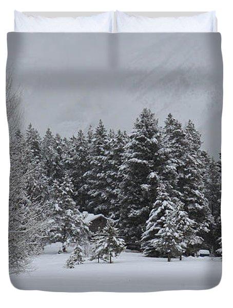Montana Morning Duvet Cover