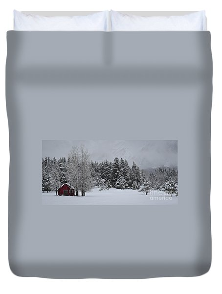 Montana Morning Duvet Cover