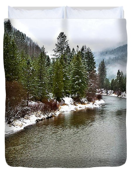 Montana Winter Duvet Cover