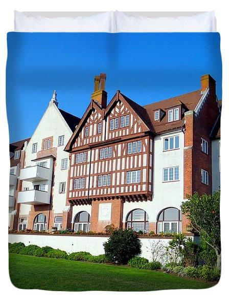 Montauk Manor Duvet Cover by Ed Weidman