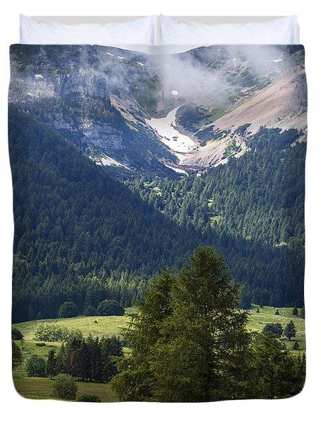 Monte Bondone Duvet Cover