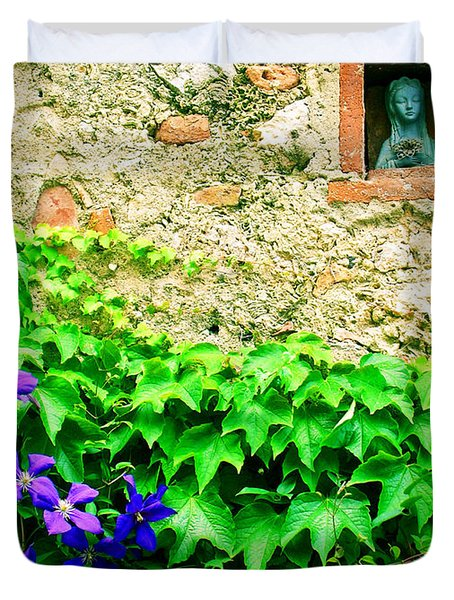 Monteriggioni Virgin Duvet Cover