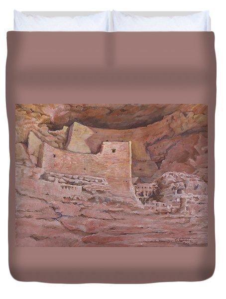 Montezumas Castle Duvet Cover
