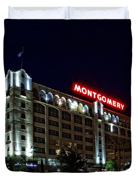Montgomery Plaza Fort Worth Duvet Cover