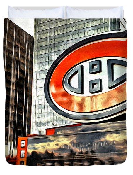 Montreal C Duvet Cover