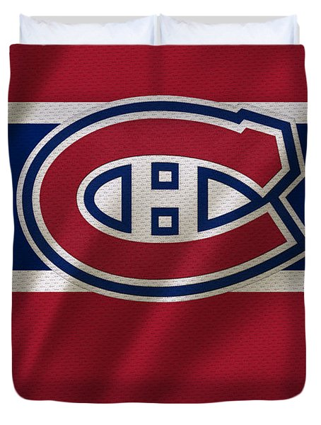 Montreal Canadiens Uniform Duvet Cover