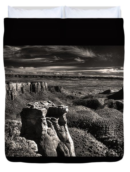 Monument Canyon Monolith Duvet Cover