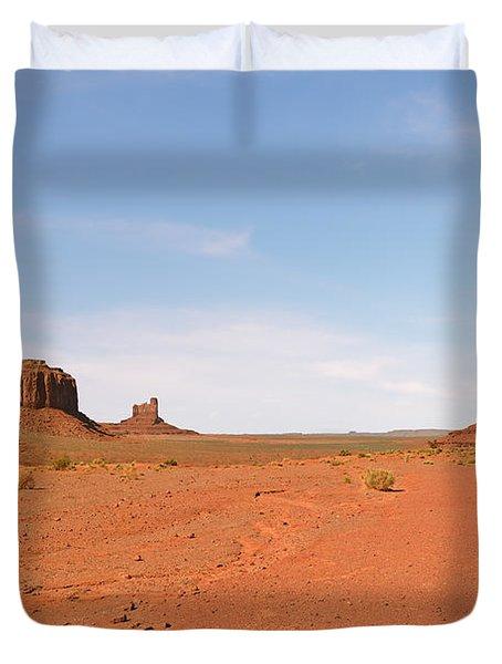 Monument Valley Navajo Tribal Park Duvet Cover by Christine Till