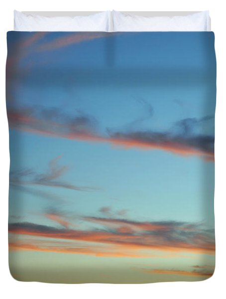 Monument Valley Sunset 3 Duvet Cover