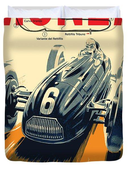Monza Grand Prix Duvet Cover