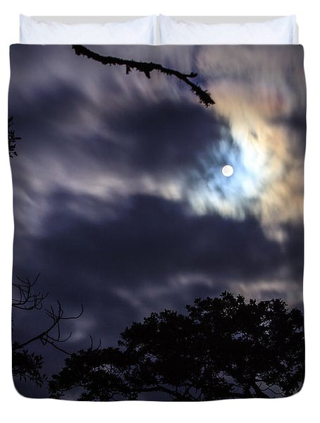 Moon Break Duvet Cover