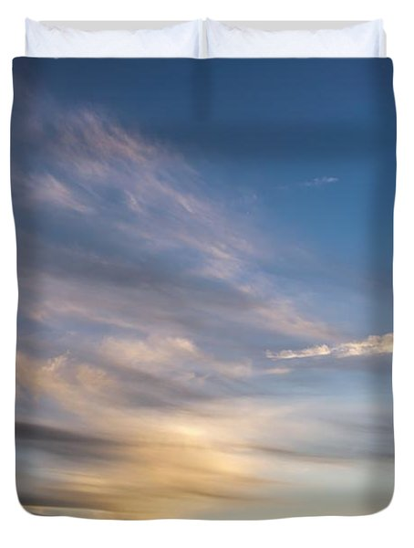 Moon Over Doheny Duvet Cover