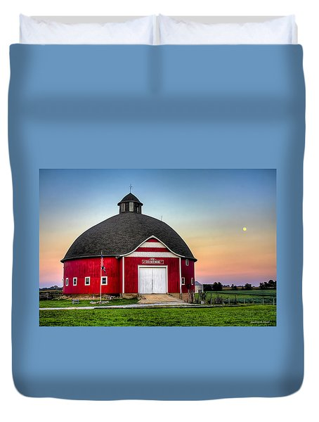 Moon Over Mulberry Duvet Cover