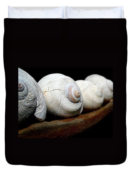 Moon Shells Duvet Cover
