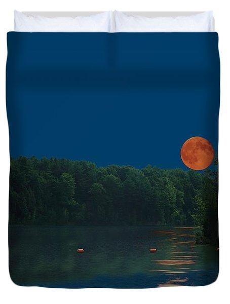 Moon Shot Duvet Cover