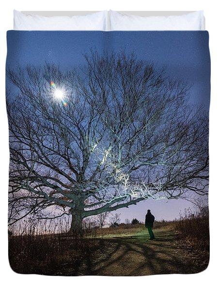 Moon Tree Duvet Cover