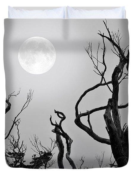 Moon Whisperer Duvet Cover
