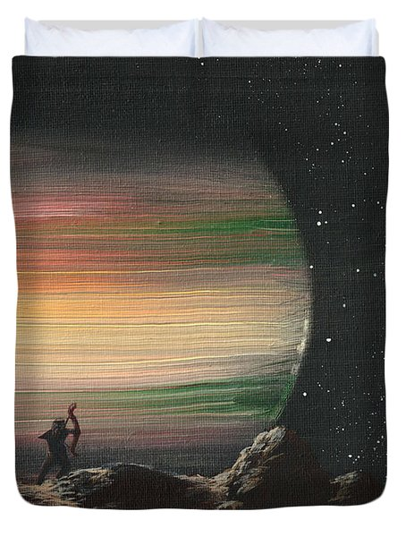 Moonhunter Duvet Cover
