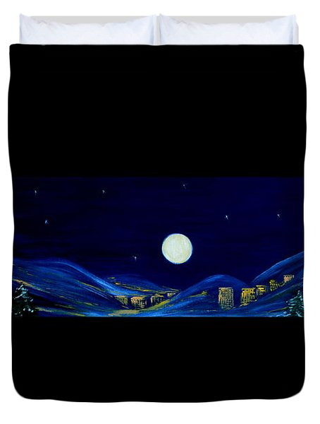 Moonlight 2013. Inspirations Collection Duvet Cover