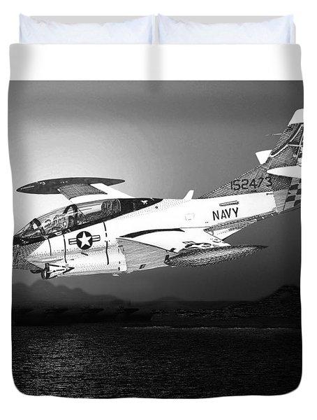 Moonlight Buckeye T 2c Training Mission Duvet Cover