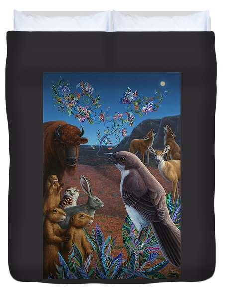 Moonlight Cantata Duvet Cover